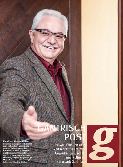 Jean-Pierre Weyermann in der Gantrisch Post