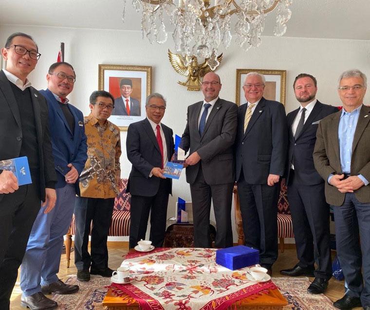 Einladung der Botschaft von Indonesien